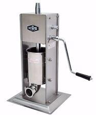 Kws Commercial Sausage Stuffer Maker St 3l 66lb Heavy Duty Gear System