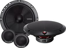 """ROCKFORD P1675S COMPONENT SYSTEM 6.75"""" 2 WAY WITH GRILLS"""