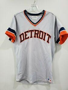 Vintage 80s Sand Knit Medalist Detroit Tigers Al Kaline 6 Jersey Mens 40 M Sewn