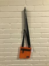 Iets Frans Shoulder Bag Transparent Orange Clear Festival Bag BNWT