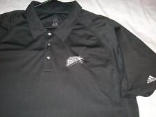 San Antonio Silver Stars WNBA adidas Black Polo Golf Shirt Men's 2XL used