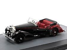 Matrix Scale Models 1938 Alvis 4.3 Litre Vanden Plas Tourer black/red 1/43