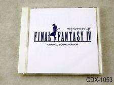 Final Fantasy IV 4 Original Sound Version CD OSV Japan Import US Seller