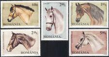 Romania 2010 Horses/Domestic Animals/Nature/Transport/Sport 5v set (n46123)