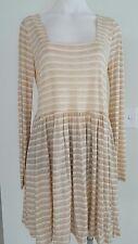 SPORTSGIRL DRESS, Size 8, Cream Tan Color, New $29.99 Rrp $59.95