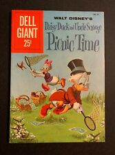 Dell Giant • Daisy Duck & Uncle Scrooge Picnic Time • 9/1960 • VF