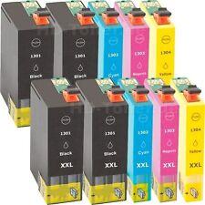 10 Tintas Non-Oem XL para Epson t1301 t1302 t1303 t1304 b42wd