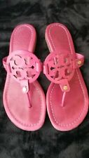 Tory Burch Miller Sandals Dark Pink Size 7