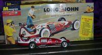 """1/24 Custom Revell-Cox/Monogram """"Long Johns"""" Streamlined Dragster Slot Car"""