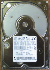 IBM 9GB 68pin fast SCSI hard drive from Apple Macintosh G3 G4 DDRS-39130 tested