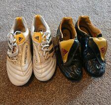 Vintage Adidas Predators Soft Ground Football Boots Size UK 5-5.5