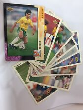 Upper Deck 1994 World Cup Soccer Card Set of 10 - Used