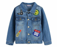 Denim Blue Jackets & Coats for Girls