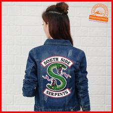 Riverdale Jeans Jacke South Side Serpents Streetwear Frühlingsjacke Damen S-XL