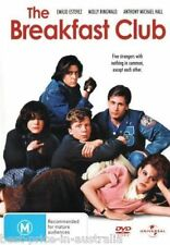 The Breakfast Club DVD Movie TOP 500 MOVIES Molly Ringwald BRAND NEW Region 4