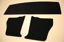 Holden Torana TA-LC-LJ Parcel shelf & kick panels. Black carpet. Incl trim clips