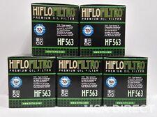 Derbi Mulhacen 125 07 a 13 HifloFiltro Filtro De Aceite HF563 x Paquete De 5