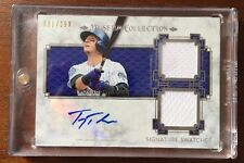 TROY TULOWITZKI 2014 TOPPS MUSEUM AUTOGRAPHED SIGNED AUTO BASEBALL CARD SSD-TTU