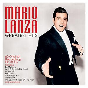 MARIO LANZA - GREATEST HITS - 3 CDS - NEW!!