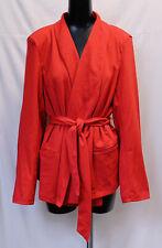 Boohoo Women's Plus Tie Waist Blazer CD4 Red Size US:20 UK:24 NWT