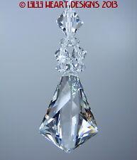 m/w Swarovski Crystal Vibe 38mm Prisim Clear Beaded Strand Lilli Heart Designs