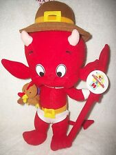 Harveytoons Little Devil Thanksgiving Pilgrim Large Plush Doll With Tags