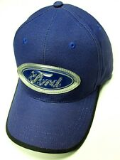 Ford Motor Company Blue Hat Cap Rubber Patch Overlay Car Truck Truck Oval Logo