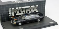 VOLVO 264 TE DDR STATE LIMOUSINE HONECKER DARK BLUE MATRIX 12106-023 1/43 RDA
