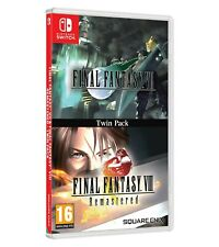 FINAL FANTASY VII (7) And VIII (8) Twin Pack NEW PreOrder 04/12/2020 PAL RELEASE
