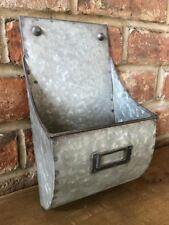 Industrial Vintage Letter Post Rack Wall Mounted Key Storage Shelving Unit 30cm
