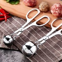 Creative Stainless Steel Meatball Maker Ice Cream Scoop Kitchen Cooking Tools
