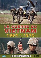 10 DVD le Guerre du Vietnam - 1964-1975 / Dix documentaires