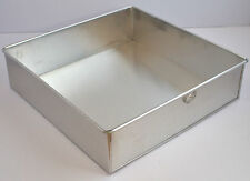 Square Aluminium Cake Tin Baking Pan 12""