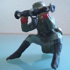 Soldat ancien LINEOL ELASTOLIN en composition  visé artillerie 1940