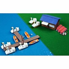 Tomytec Komono 080-2 Boat Set B (Boat Slip Set) 1/150 N scale Japan