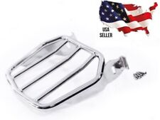 HARLEY DAVIDSON 50300030 SOFTAIL CHROME TAPERED SPORT LUGGAGE RACK REAR CARRIER