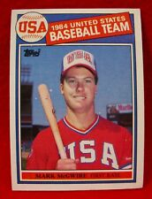 MARK McGWIRE-Topps 1985 Rookie Baseball Card #401-EX Cond. Oakland A's-Cardinals