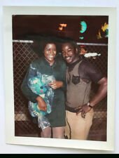 1970s Pretty African American Lady Color Polaroid Photo