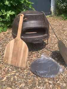 Kadai Clay Pizza Oven - only used once - in original packaging.
