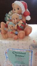 Cherished Teddies- 950769 Theodore, Samantha & Tyler 1992  w. neu