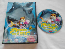 ¡ MOVIDA BAJO EL MAR ! ANIMACION DVD + EXTRAS ESPAÑOL ENGLISH