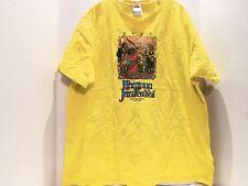 Hampton Va. Jazz Festival Since 1968 T-Shirt (2Xl) Yellow- Rare
