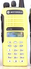 Motorola HT1250 UHF 450-512 MHz AAH25SDH9AA6 128ch * YELLOW * radio only