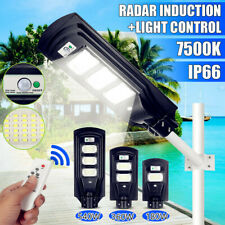 540W LED Solar Street Light PIR Motion Sensor Outdoor Garden Wall Lamp +
