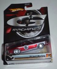 2006 HOT WHEELS G MACHINES TRACK LEGENDS SERIES 1 '70 FORD MUSTANG 3/11