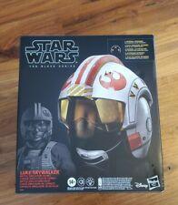 Star Wars Black Series Luke Skywalker X-Wing Legacy Electronic Pilot Helmet New