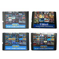 Sega Megadrive ALL in1 16 Bit Game Cartridge For Megadrive Multi Cart Retro Card