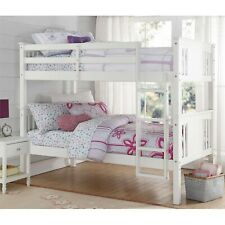 Better Homes and Gardens Flynn Twin Wood Bunk Bed, Multiple Colors Better Homes