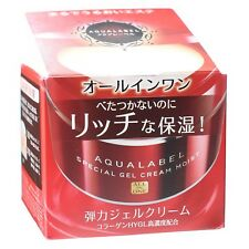 Shiseido AQUALABEL Special Gel Cream Moist 90g with Collagen Hyaluronic Acid