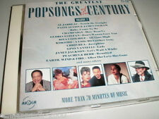 POPSONGS OF THE CENTURY CD MIT SADE CHRIS REA AL JARREAU WILLY DEVILLE CHAMPAIGN